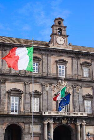plebiscite: Naples, Italy, Europe -  Royal Palace Editorial