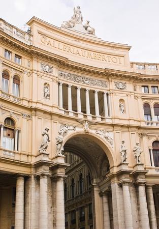 Naples, Italy - Gallery Umberto I
