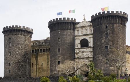 Naples, Italy - Maschio Angioino Castle