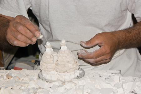 Craftsman at work, Italy Stock Photo - 13668796