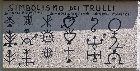 symbolism: Trulli symbolism, Apulia, Italy
