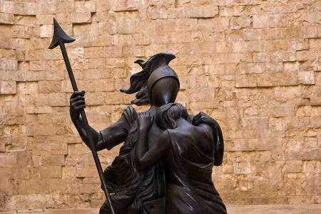 Statue in Castel del Monte, Apulia, Italy Stock Photo - 13668801