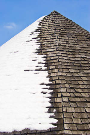 Roof snow Stock Photo - 18942150