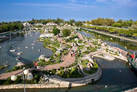 rimini: Italy in Miniature Park, Rimini Editorial