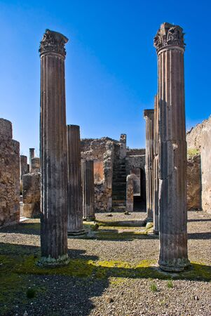 archeological: Archeological excavations of Pompeii, Italy