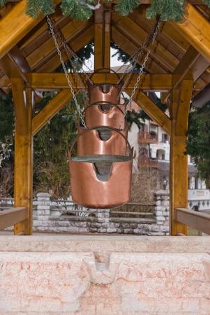 characteristic: Characteristic wooden shaft