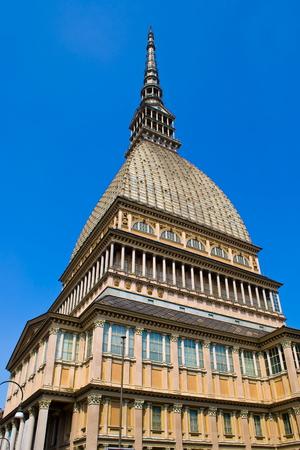 risorgimento: View of the Mole Antonelliana in Turin, Italy