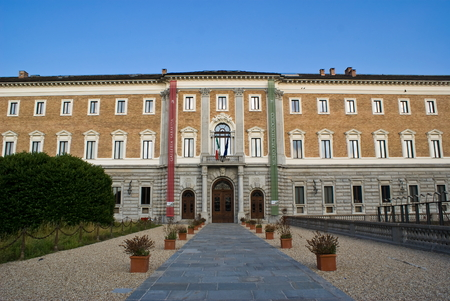 costruction: Sabauda Gallery in Royal Palace of Turin, Italy