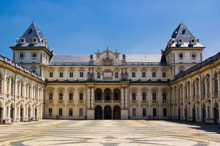 risorgimento: The Castle of Valentino in Turin, Italy Editorial