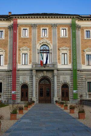 costruction: Sabauda Gallery in Turin, Italy