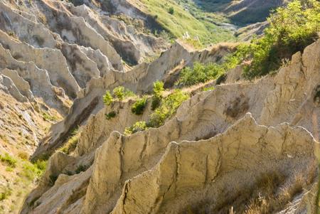 abruzzo: Atris badlands in Abruzzo, Italy