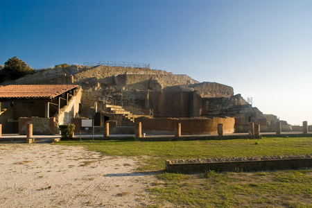 The archaeological and nature Park of Pausilypon in Naples, Italy