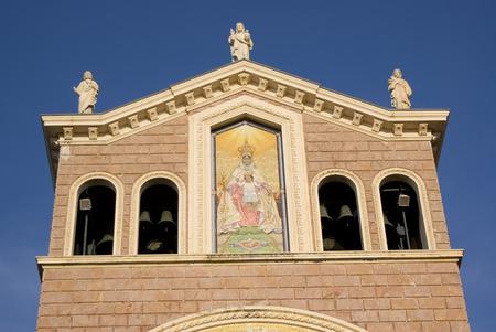 Details of the Sanctuary of Tindari, Sicily in Italy