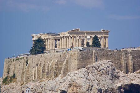 Parthenon, Acropolis of Athens Imagens