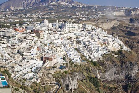 View of Thira from Imerovigli, Santorini