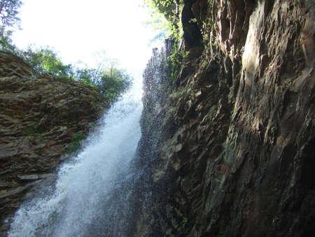 petit: Cedar Falls at Petit Jean, Arkansas