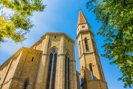 Tuscany - Italy: Arezzo Cathedral (Cattedrale di Ss. Donato e Pietro). Its a Roman Catholic cathedral in the city of Arezzo in Tuscany, Italy.