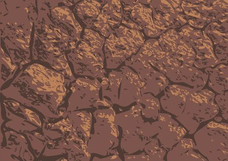 waterless: dry cracked soil. the dark abstract background