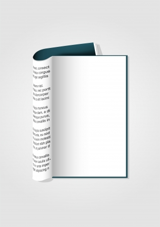 abstract background with opened book