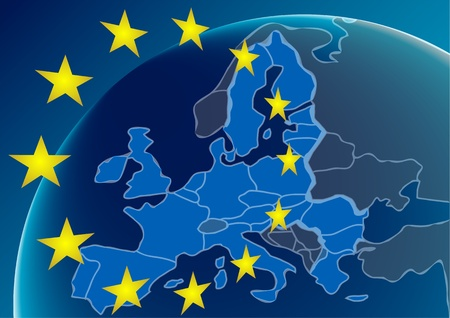 European Union countries  Background  Vector