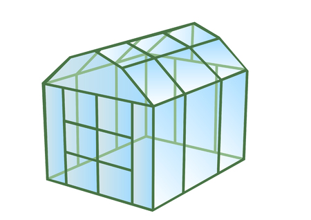 the greenhouse: greenhouse  Illustration