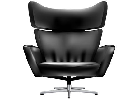 isolated chair: chair office