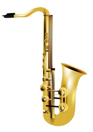 alto: alto saxophone isolated on a white background