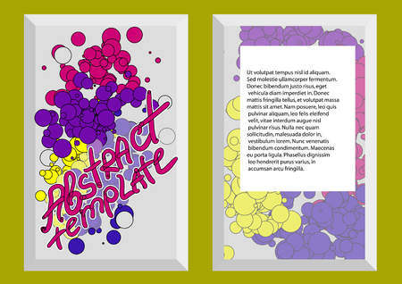 absract: abstract template1. absract background for business document