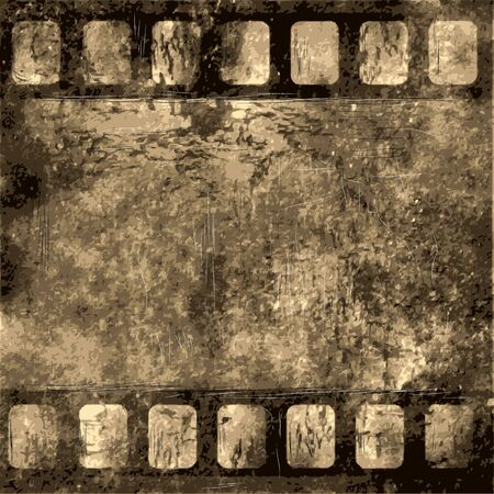 film. old frame as grunge background.