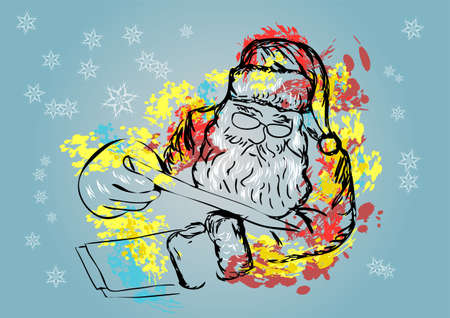 letter from santa: santa claus and letter
