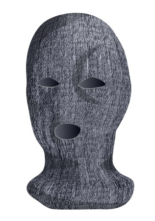 ski mask: ski mask isolated on a white background Illustration