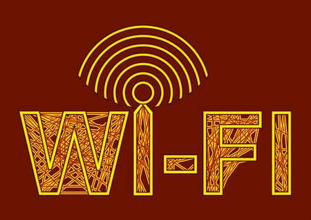 wireless signal: wireless symbol. wi-fi with antenna and sign of signal Illustration