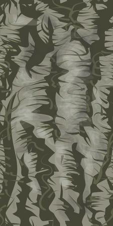 schors textuur. abstract vector naadloze illustratie van boom oppervlak Stock Illustratie