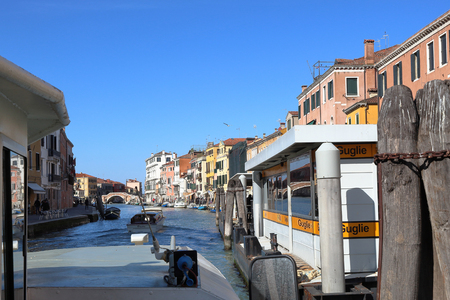 canal in Venice The Bridge of the Three Arches