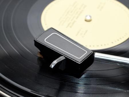 Vinyl player Stock Photo - 10859568