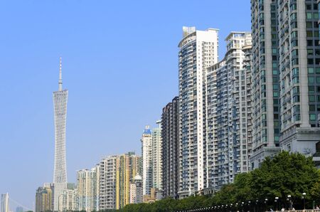 Condominiums Apartment high-rises buildings in Guangzhou (Canton) - China