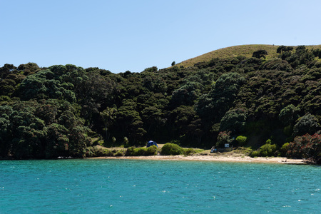 A secret beach - New Zealand Bay Of Islands scenery