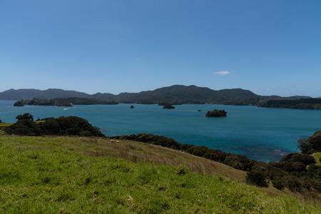 Beautiful ranch by the sea Urupukapuka Island -  Bay of Islands- New Zealand