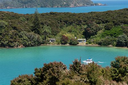 Beautiful Bay of New Zealand - Urupukapuka Island, Bay of Islands.
