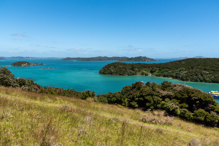 Beautiful Landscape of New Zealand Bay of Islands