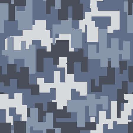 gray pattern: Gray camouflage seamless pattern