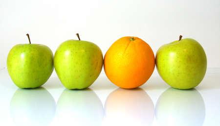 Al comparar manzanas con naranjas