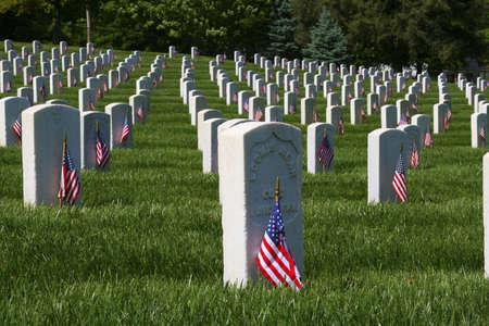 Memorial Day ist US Federal Holiday, dass beobachtet wird am letzten Montag im Mai. Dieser Feiertag erinnert an US-Männer und Frauen, die gestorben sind in militärischen Dienst an ihrem Land Standard-Bild - 3129406