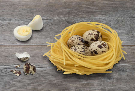 Pasta Made With Eggs Stock Photos & Pictures. 2,221 Royalty Free ...