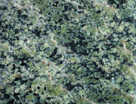 serpentine: Surface mineral chrysotile, a member of the serpentine. Serpentine has a distinctive pattern and color, reminiscent of snake skin.