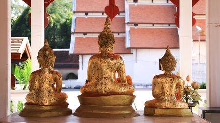 Three-dimensional backdrop background   Songkran Festival scribes