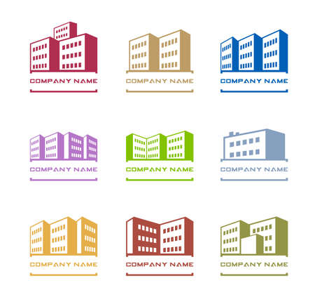 multistory: Buildings icons