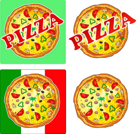 Pizza Stock Vector - 11358074