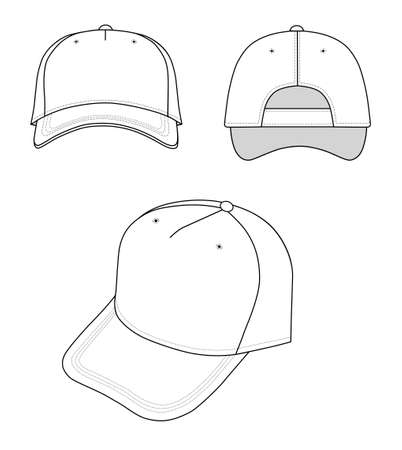 hat with visor: Cap