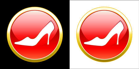 Shoes advertisement Stock Vector - 11358080
